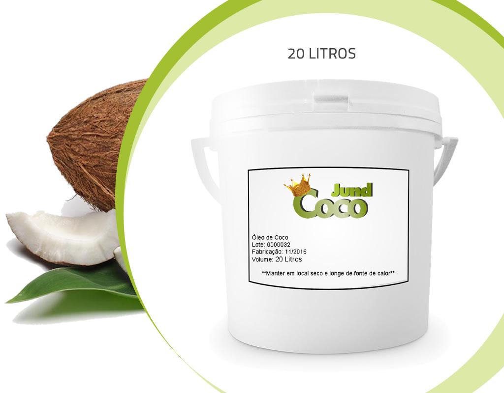 Bombona de 20 Litros de óleo de coco, Balde de 20 litros de óleo de coco